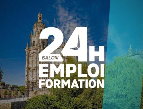 Salon 24 heures pour l'emploi et la formation – Evreux (27)