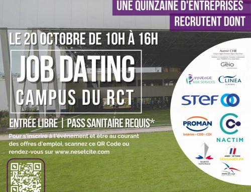 Job dating au RCT